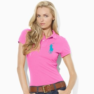 Ralph Lauren Blue Label Neon Big Pony Polo