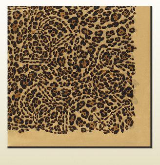 Gucci Jaguar Print Silk Scarf