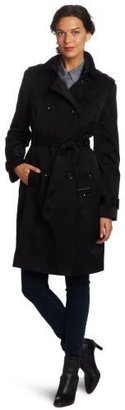 London Fog Women's Kylie Double-Breasted Trench Coat