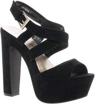 New Look Scraper Platform Sandals