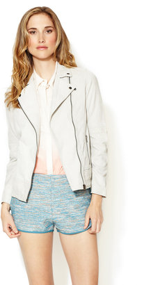 Winter Kate Castle Suede Leather Jacket