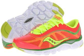 Saucony Virrata W (Vizipro Coral/Green/Citron) - Footwear