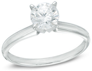 2 CT. Diamond Solitaire Engagement Ring in 14K White Gold (I/SI2)