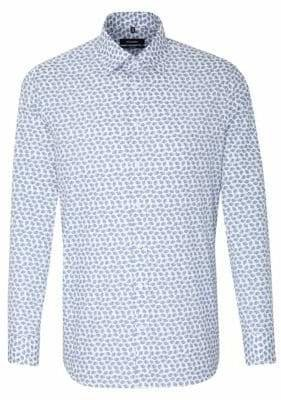 Seidensticker Tailored-Fit Printed Button-Down Shirt