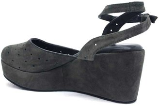 "Cordani Dina"" Grey Suede Wedge"