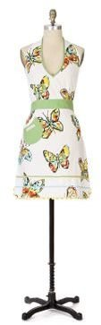 Anthropologie Butterfly Apron