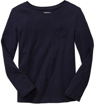 Gap Slub crewneck pocket tee