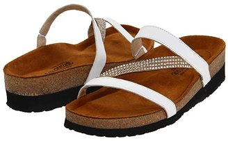 Naot Footwear Hawaii (White Leather) Women's Sandals