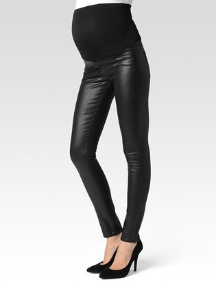 Verdugo Full Panel Maternity - Black Coating $199 thestylecure.com