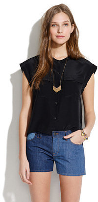 Madewell Cropped Cargo Top