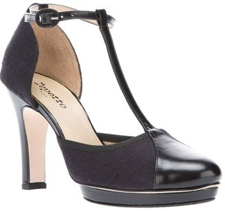 Repetto t-bar closed toe sandal