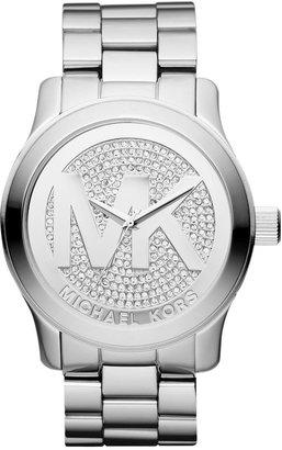 Michael Kors Women's Runway Stainless Steel Bracelet Watch 45mm MK5544