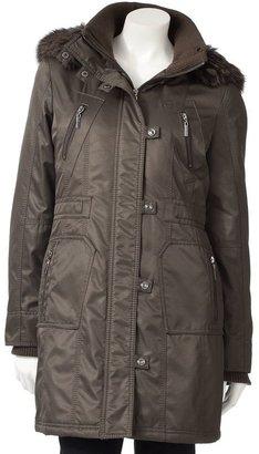 Fleet Street Military Hooded Jacket