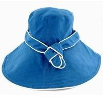 Hat Attack Hatat-Canvas Sunhat W/ Piped Trim