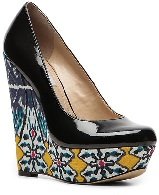 SM Women's Garden Wedge Pump