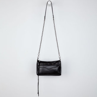 Studded Chain Strap Crossbody Bag