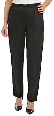 Allison Daley Petites Faux-Fly Pull-On Pants