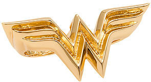 Noir The x DC Comics WW Ring in Gold