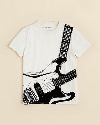 John Varvatos Boys' Guitar Print Tee - Sizes 4-7