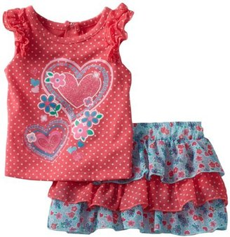 Nannette Baby-girls Infant 2 Piece He...