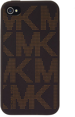 MICHAEL Michael Kors Silicone Logo iPhone 4 Cover