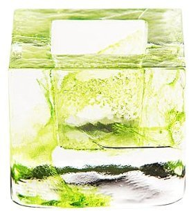 Kosta Boda Brick Votive, Lime