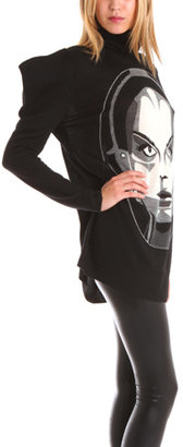 Belle Sauvage Knitted Tunic with Face