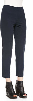 Brunello Cucinelli Cropped Stretch Cotton Pants