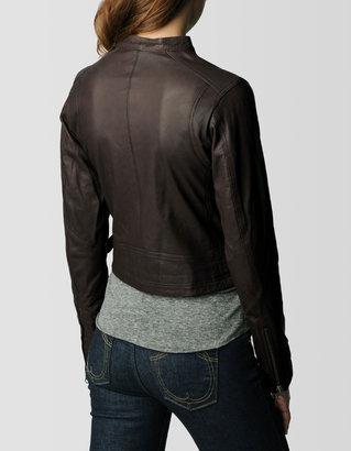True Religion Womens Leather Jacket