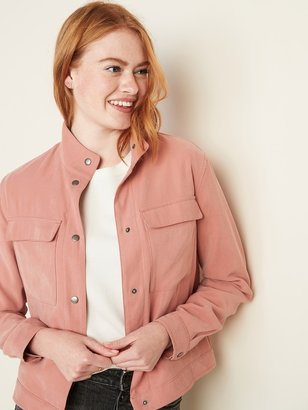 Old Navy Soft Utility Jacket for Women