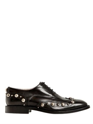 Marc Jacobs 20mm Studded Calfskin Oxford Shoes