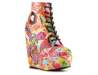 Iron Fist Sweets 4 My Sweet Wedge Bootie