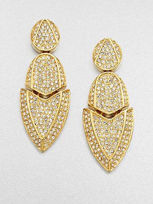 Kara Ross Kara by Artemis Sparkle Drop Earrings