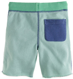 J.Crew Boys' pull-on knit short in colorblock rugged terry