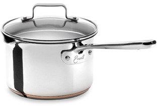 Emerilware Stainless Steel 3-Quart Saucepan with Lid
