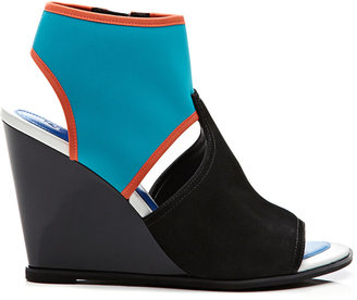 Kenzo Venice Neoprene Wedge Sandals