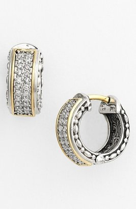 Women's Konstantino 'Diamond Classics' Small Hoop Earrings $1,490 thestylecure.com