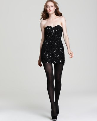 Twelfth St. By Cynthia Vincent by Cynthia Vincent Party Dress - Mirrored Strapless