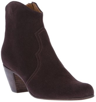 Enrico Antinori zip-up ankle boot