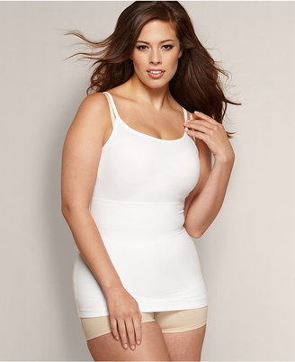 Maidenform Flexees by Plus Size Fat Free Dressing Firm Control Plus Size Tank 13266