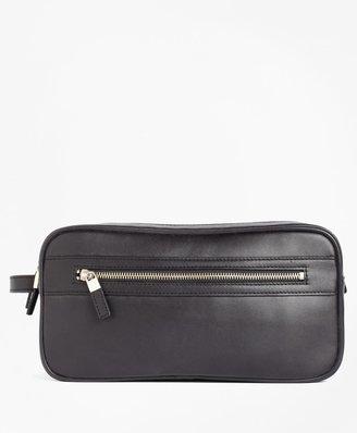 Brooks Brothers Leather Travel Kit