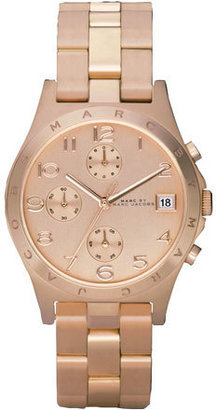 MARC by Marc Jacobs Henry Watch, Rose $225 thestylecure.com