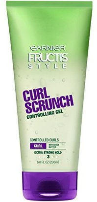 Garnier Fructis Style Curl Scrunch Controlling Gel, Curly, 6.8 oz. (Packaging May Vary) $4.29 thestylecure.com