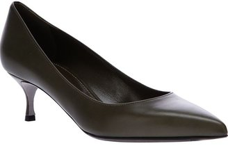 Sergio Rossi pointed toe pump