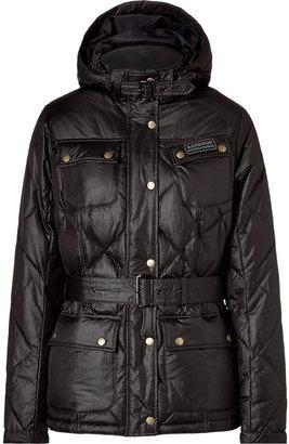 Barbour Nation Black Down Jacket