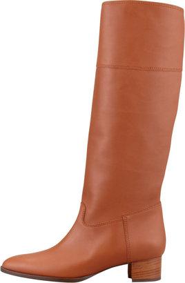 Manolo Blahnik Equestra Knee-High Boot, Luggage