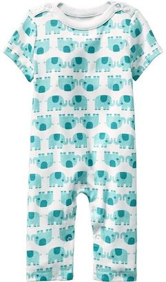 Old Navy Patterned Boat-Neck One-Pieces for Baby
