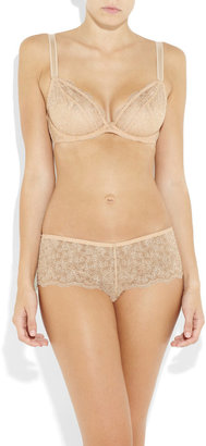 Rigby & Peller Embroidered lace underwired bra