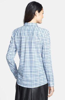 Caslon Long Sleeve Cotton Shirt (Regular & Petite)