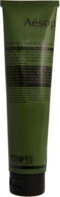 Aesop Geranium Leaf Body Scrub - DEA Free